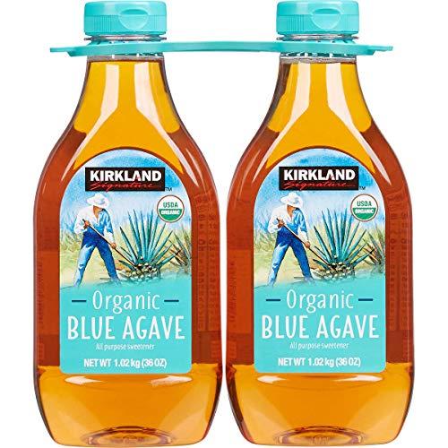 Kirkland Signature Organic Blue Agave All Purpose Sweetener, 36o...
