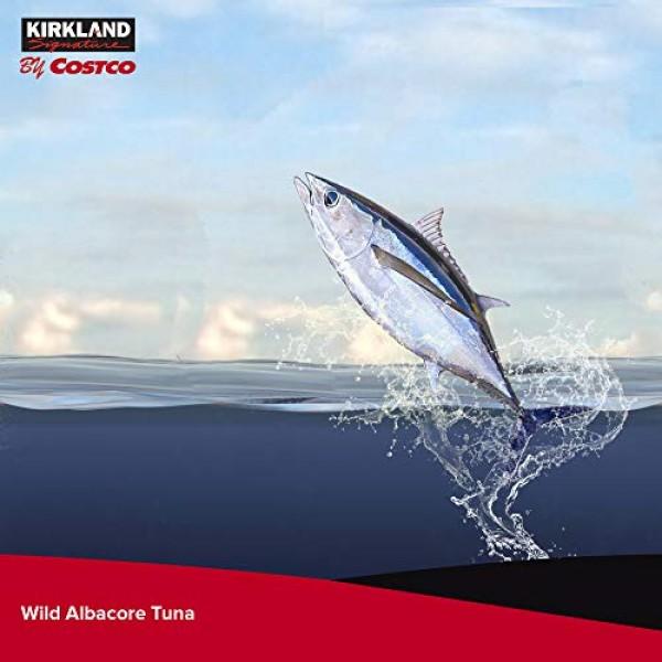 Kirkland Signature Solid White Albacore Tuna, 56 Ounce