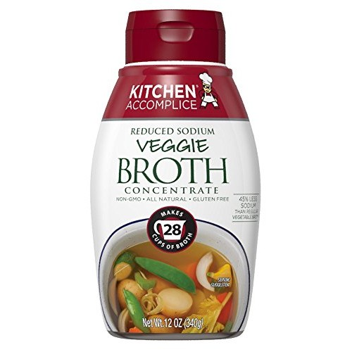 Kitchen Accomplice Reduced Sodium Vegetable Style Broth Concentr...