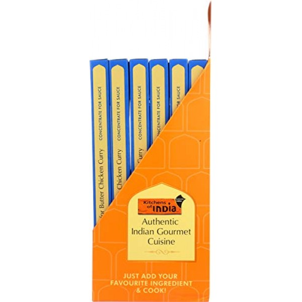Kitchens of India Paste, Butter Chicken Curry, 3.5-Ounces, Pack ...