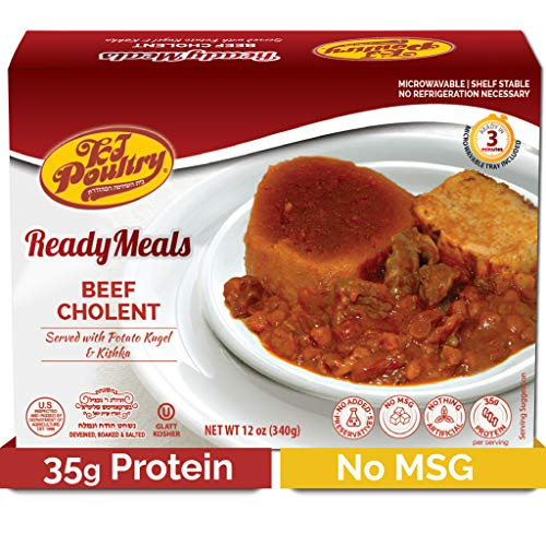 Kosher Mre Meat Meals Ready to Eat, Beef Cholent 1 Pack 35g Pr...