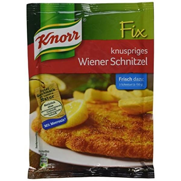Knorr Fix crispy Wiener schnitzel knuspriges Wiener-Schnitzel ...