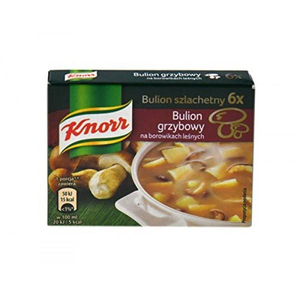 Knorr Bulion Grzybowy Na Borowikach Lesnych Mushroom Bouillon 60...