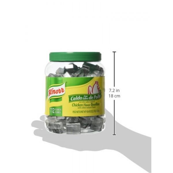 Knorr Chicken Flavor Bouillon Cubes, 43.45 Ounce
