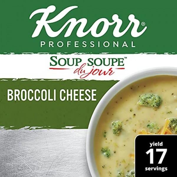 Knorr Professional Soup du Jour Broccoli Cheese Soup Mix Vegetar...