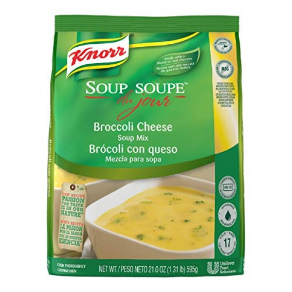 Knorr Professional Soup du Jour Broccoli Cheese Soup Mix Vegetar...