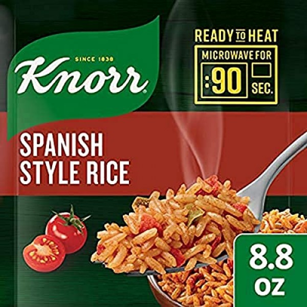 Knorr Ready to Heat Meal Maker for a quick and easy side Spanish...