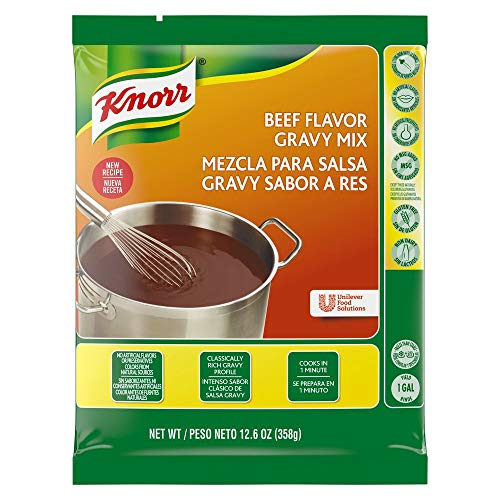 Knorr Gravy Mix Beef 12.66 oz, Pack of 6