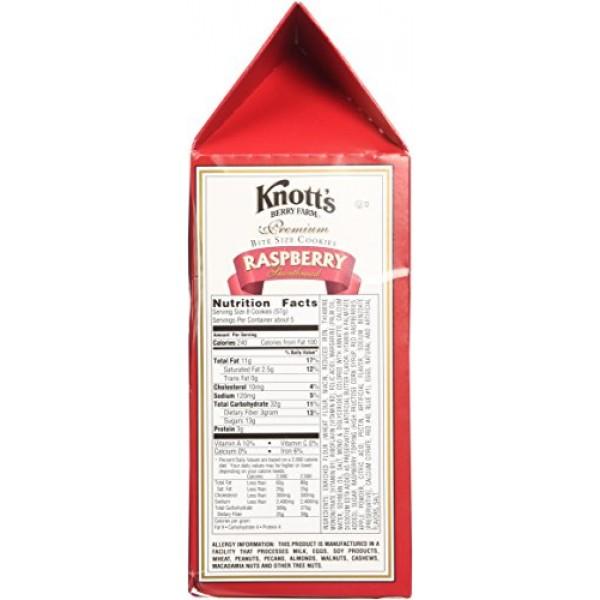 Knotts Berry Farm - Premium Raspberry Shortbread Cookies - 10oz...