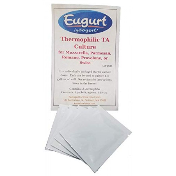 Thermophilic TA Cheese Culture 5-pack