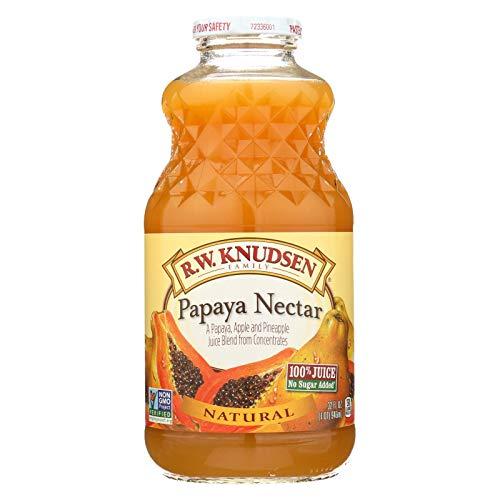 Knudsen Papaya Nectar - 32 ounce -- 12 per case.