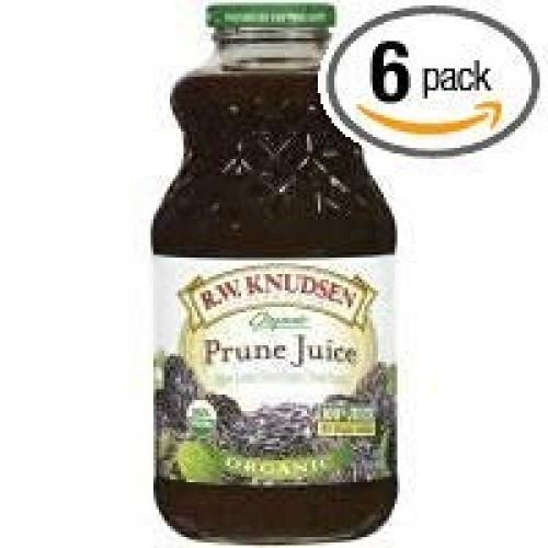 Knudsen juice prune org, 32 fo, pk- 6