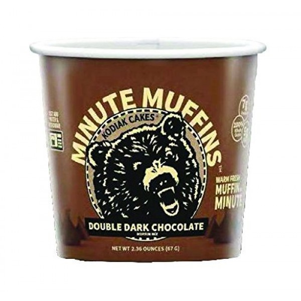 Kodiak Cakes Minute Muffins Double Dark Chocolate 2-Containers