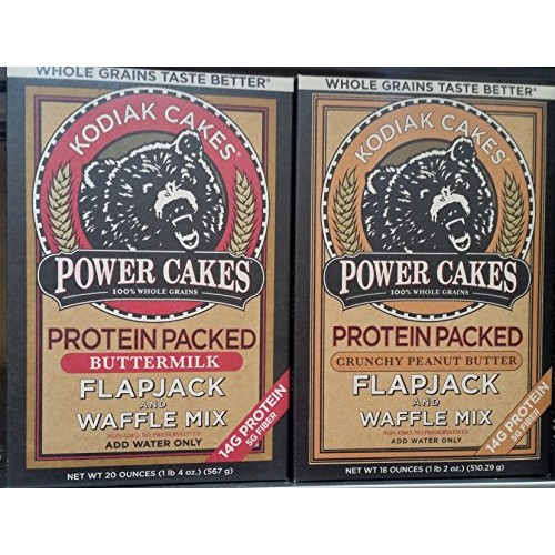 Power Cakes Protein Packs Flapjack & Waffle Mix Variety Pack 18 ...