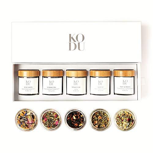 Kodu Loose Leaf Tea Sampler Gift Set   Tea Assortment With Herba...