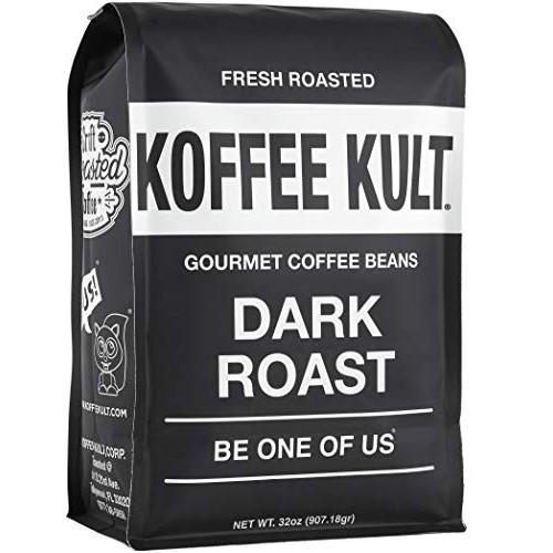 Koffee Kult Dark Roast Coffee Beans - Highest Quality Gourmet - ...