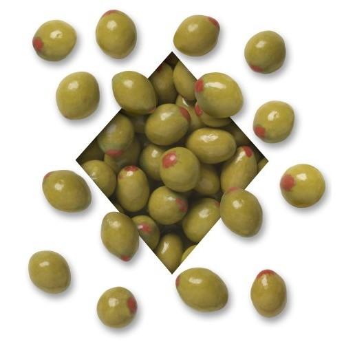 Koppers Pimento Olive Chocolate Almond, 5-Pound Bag