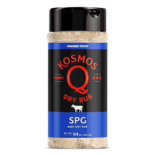 Kosmos Q SPG BBQ Dry Rub   Sweet & Savory Blend   Great on Brisk...