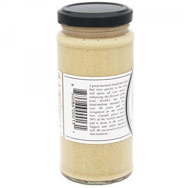 Kozliks Horseradish Hot Spicy Brown Yellow Dijon Natural Gluten ...