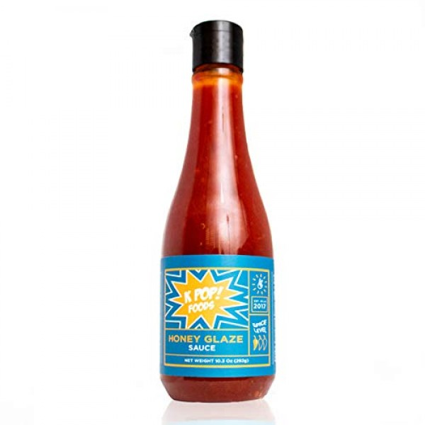 Honey Glaze Sauce by KPOP Foods. Sweet and Tangy Chicken Wings S...