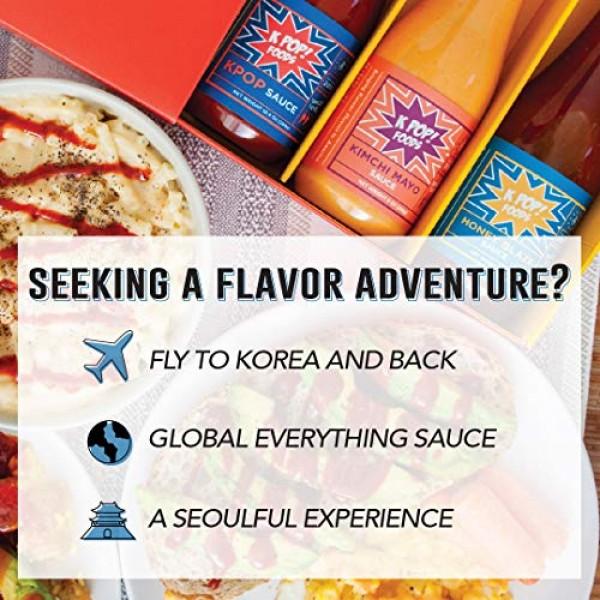 KPOP Foods Variety Sauce Set, Inspired by Korean Food & Flavors:...