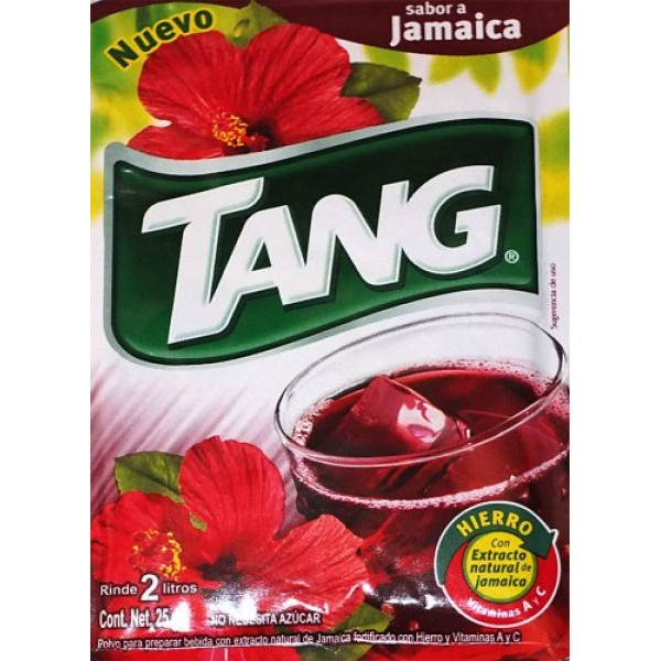 3 X Tang Jamaica Flavor No Sugar Needed Makes 2 Liters of Drink ...