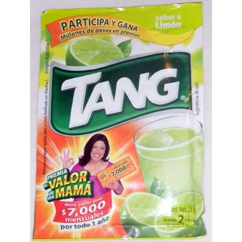 3 X Tang Limon Flavor No Sugar Needed Makes 2 Liters of Drink 15...