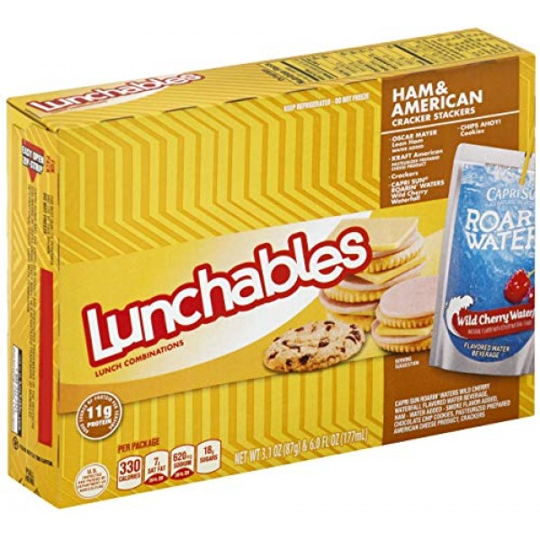 Lunchable Ham and American Cheese with Capri Sun Convenience Mea...