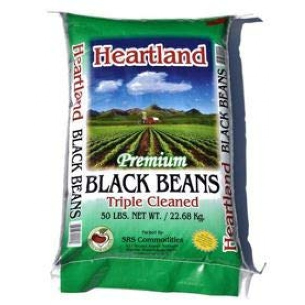 heartland black, pinto, garbanzo, red beans triple washed black...