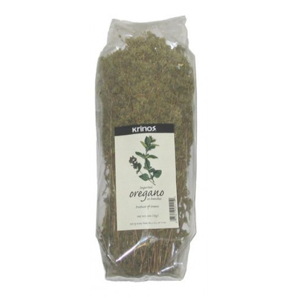 Krinos IMPORTED Oregano in Bunches - 2oz 56g - Product of Greece