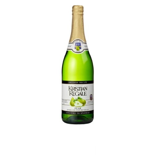Kristian Regale Sparkling Pear Beverage, 25.4 Ounce Bottles Pac...