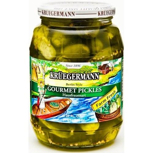 Gourmet Pickles Hausfrauenart Style 32 fl oz