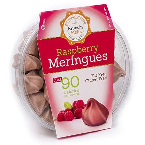 Original Meringue Cookies Raspberry • 90 calories per serving,...