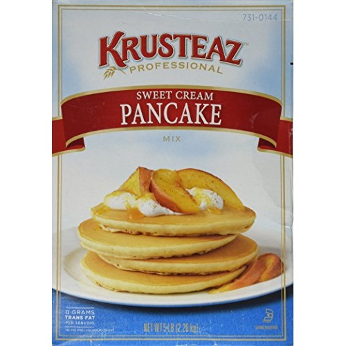 5 Pounds Krusteaz Sweet Cream Pancake Mix Just Add Water