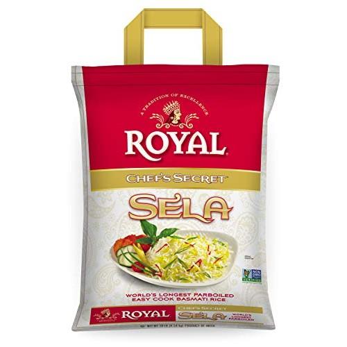 Royal Chef's Secret Parboiled Sella Extra Long Basmati Rice, 10 ...