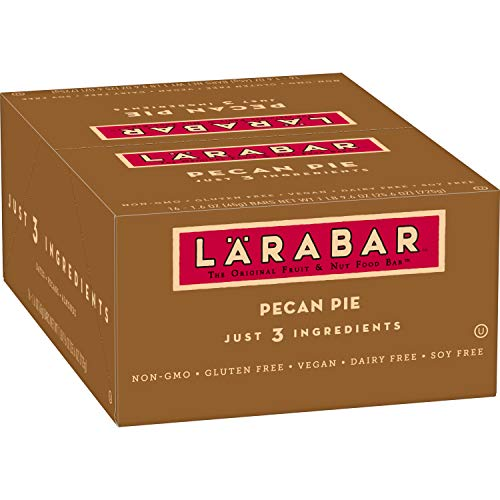 LARABAR, Fruit & Nut Bar, Pecan Pie, Gluten Free, Vegan, Whole 3...
