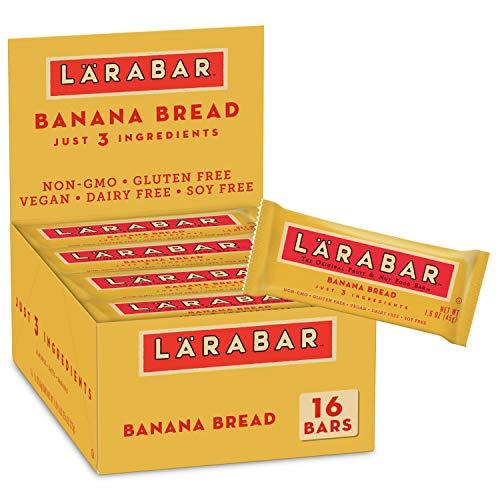 Larabar Gluten Free Bar, Banana Bread, 1.6 oz Bars 16 Count, W...