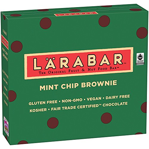 Larabar Mint Chip Brownie Fruit & Nut Bars 5 ct Box