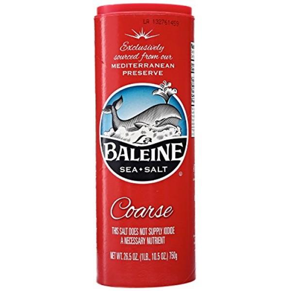 B0086XR2J0 - La Baleine Sea Salt Canister - Coarse - 26.5 oz