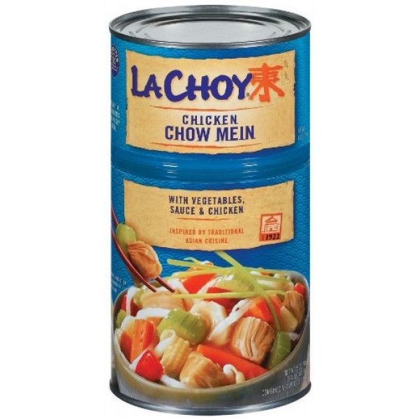 La Choy Chicken Chow Mein with Vegetables, 42 oz Pack of 2