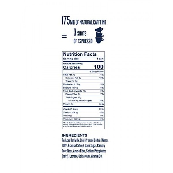 La Colombe Triple Draft Latte - 9 Fluid Ounce, 4 Count - 3 Shots...