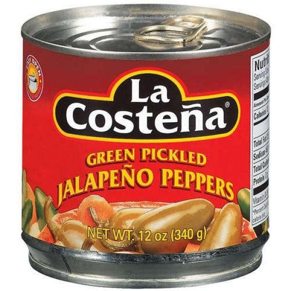 La Costena Pepper Jalapeno Sliced