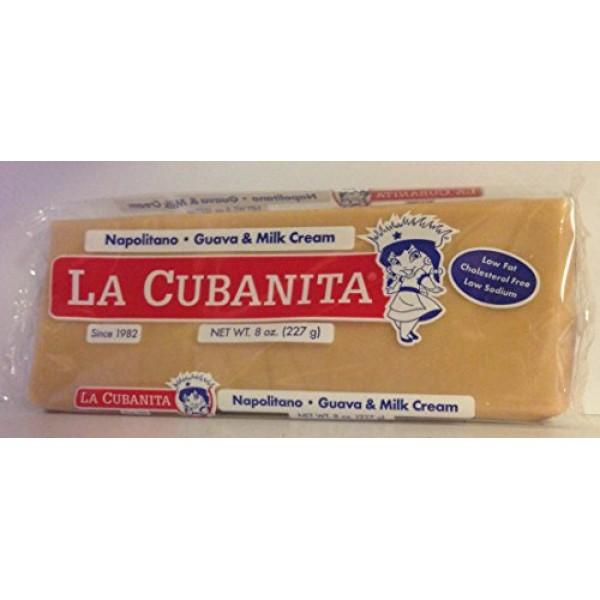 La Cubanita Napolitano Guava & Milk Cream / Guayaba Con Crema 8 ...