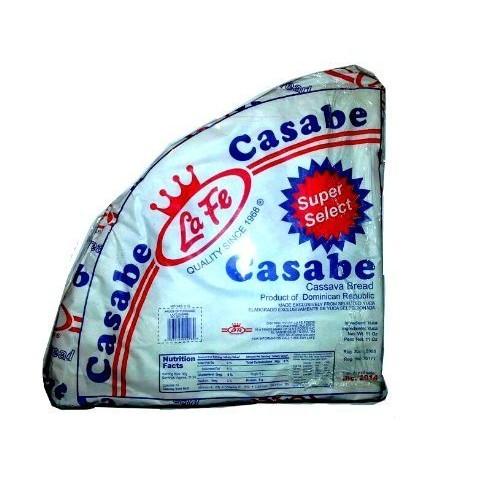 La Fe Casabe Dominicano Super Selected Traditional Cassava Bread...