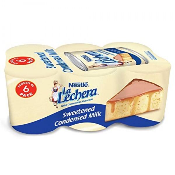 La Lechera Sweetened Condensed Milk 14 oz. cans, 6 pk.