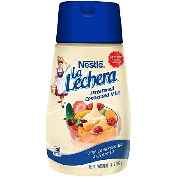 Nestle La Lechera Sweetened Condensed Milk, 11.8 oz - PACK OF 2