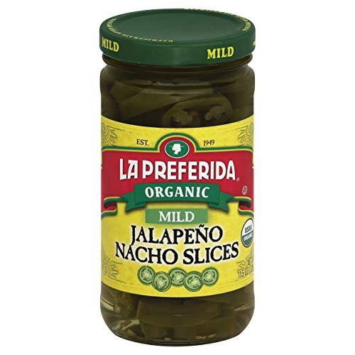 La Preferida Nacho Sliced Mild Jalapeno, 11.5 Ounce - 12 per case.