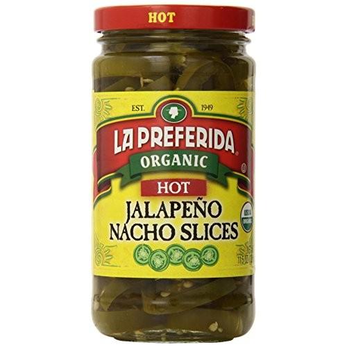 La Preferida Organic Jalapeno Nacho Slices, Hot, 11.5 Ounce Pac...