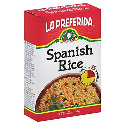 La Preferida Spanish Rice in a Box, 5.25 oz, Pack - 3