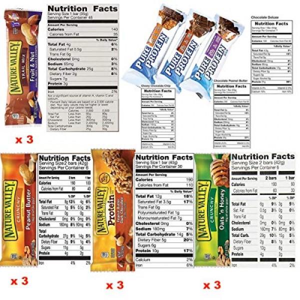 Ultimate Healthy Fitness Box - Protein & Healthy Granola Bars Sa...